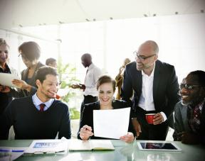 Teilnehmer Sprachkurse Inhouse für Unternehmen in Karlsruhe - Sprachschule SprachenStudio KAST