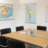 Raum für Sprachkurse in Karlsruhe: Englisch, Spanisch, Französisch, Italienisch, Japanisch