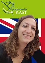 Sprachtrainerin Marina für Englisch Sprachkurse in Karlsruhe